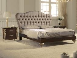 Dormitorio con cabecero tapizado. Mod. PASION-D41