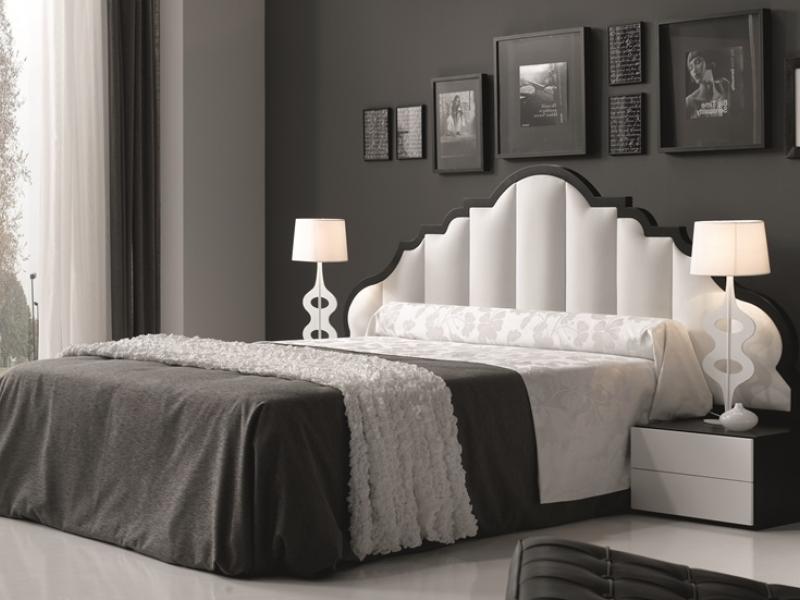 Dormitorio con cabezal  tapizado, Mod: BELLUCI