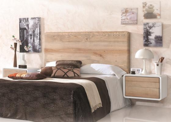 Dormitorio en madera de fresno. Mod: NORDIC 500