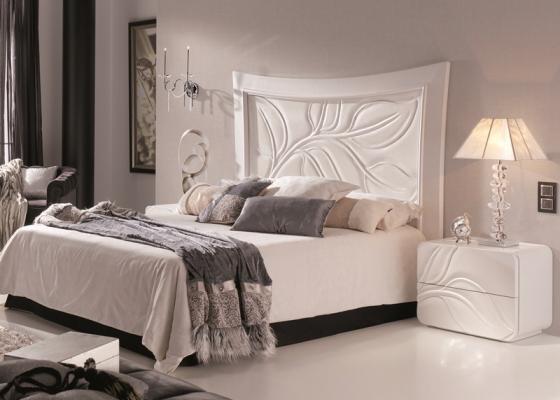 Dormitorio lacado, mod: HOJAS