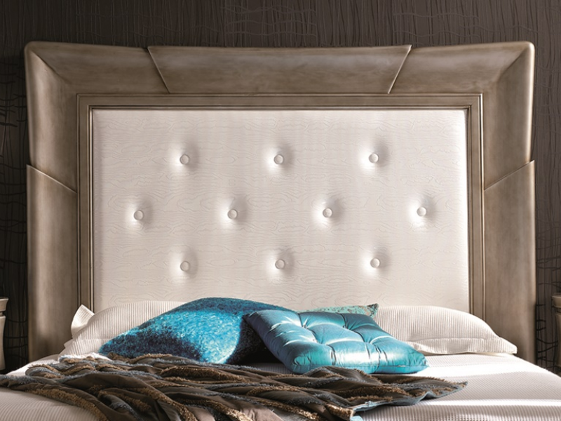 Dormitorio lacado y tapizado, mod: ATOR TP