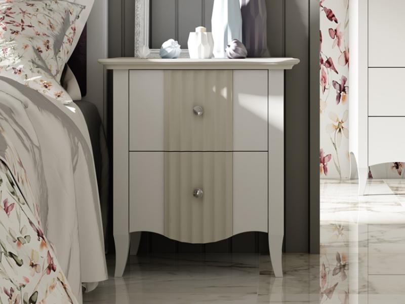 Dormitorio lacado,mod: AGATHE