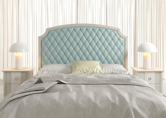 Dormitorio lacado y tapizado,mod: AMÉLIE