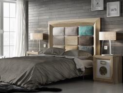 Dormitorio en roble, mod: ENZO 001