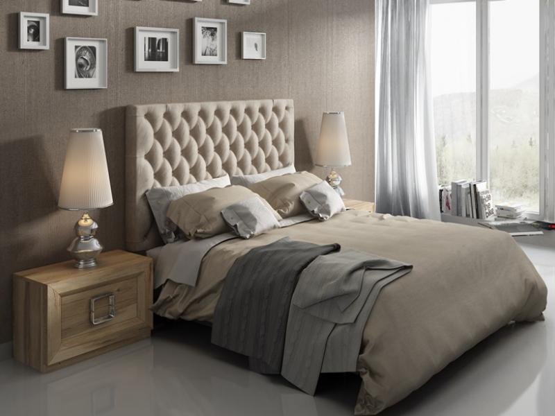 Dormitorio en roble, mod: ENZO 003