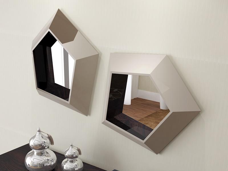 Conjunto de consola y espejos, mod: AMBERES