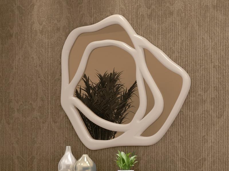 Conjunto de consola y espejo, mod: ROSE