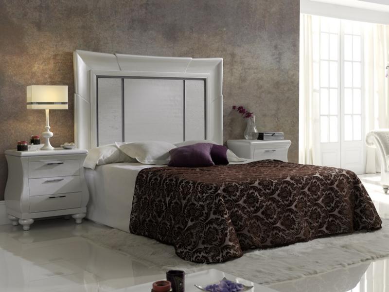 Dormitorio lacado, mod: LOIRA