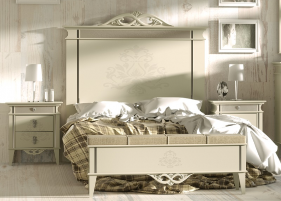 Dormitorio lacado ,mod: ROYAL03