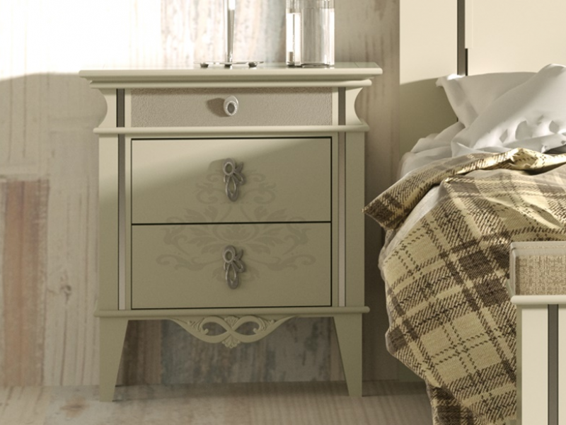 Dormitorio lacado ,mod: QUEEN 2