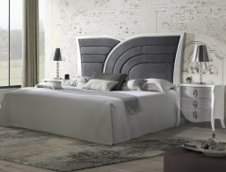 Dormitorio lacado y tapizado: Mod: ARCO IRIS TP