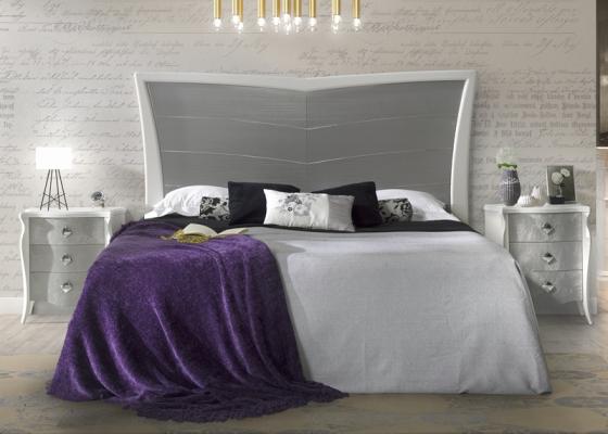 Dormitorio lacado : Mod: ALADA