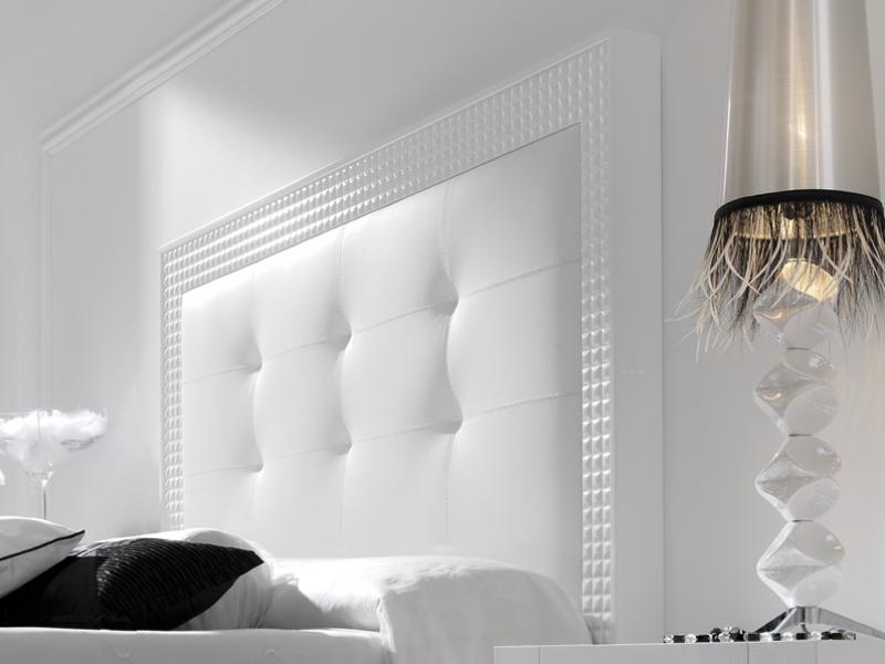 Dormitorio lacado y tapizado. Mod: DIAMANTE