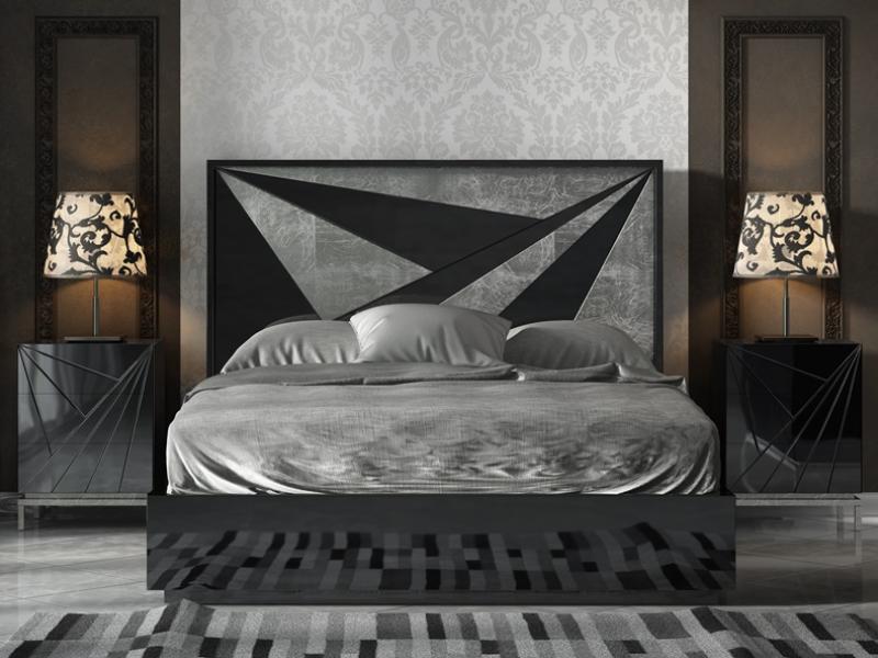 Dormitorio lacado. Mod: IKU