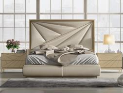 Dormitorio lacado y tapiado. Mod: KARMEN