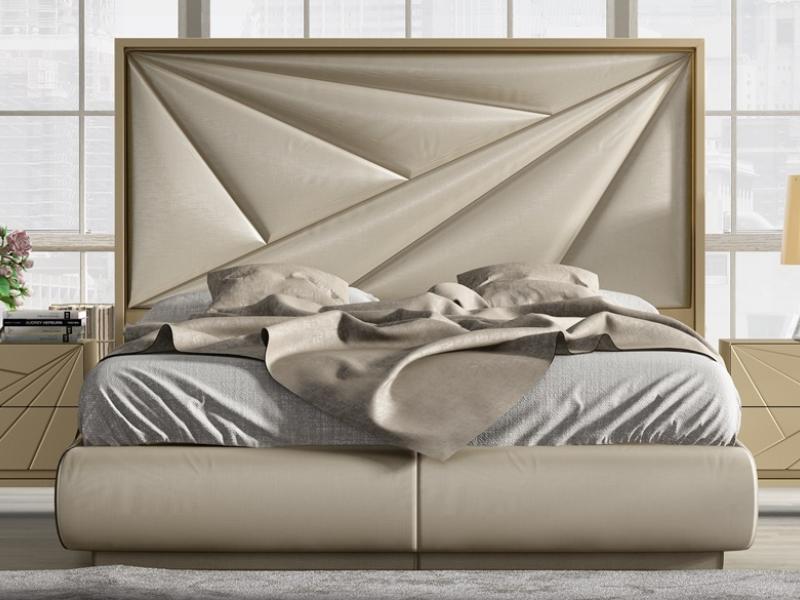 Dormitorio lacado y tapizado. Mod: KARMEN