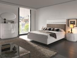 Dormitorio lacado. Mod: TESSA