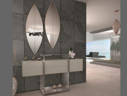 Conjunto de consola y espejos. Mod: RIO