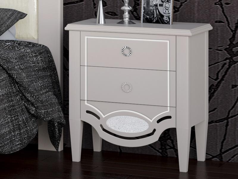Dormitorio lacado y tapizado. Mod: SUITE TAPIZADO