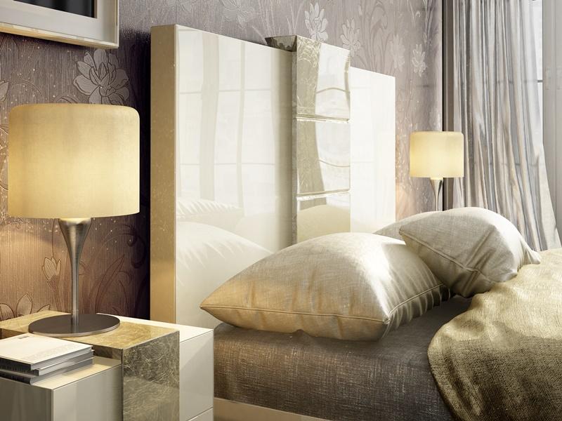 Dormitorio lacado de dise�o. Mod: YVONNE