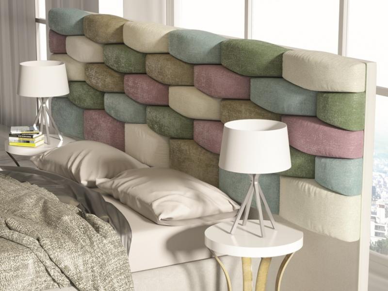 Dormitorio tapizado de dise�o. Mod: EYLEM