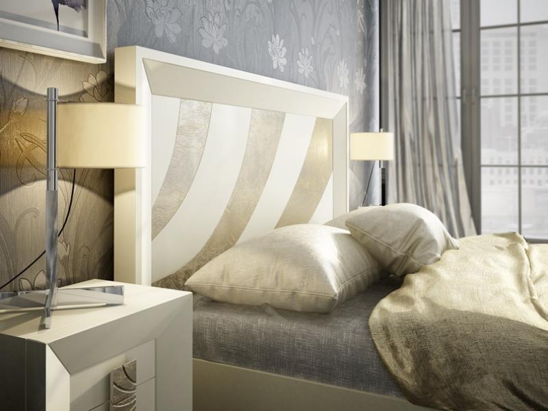 Dormitorio lacado: Mod: KARINA