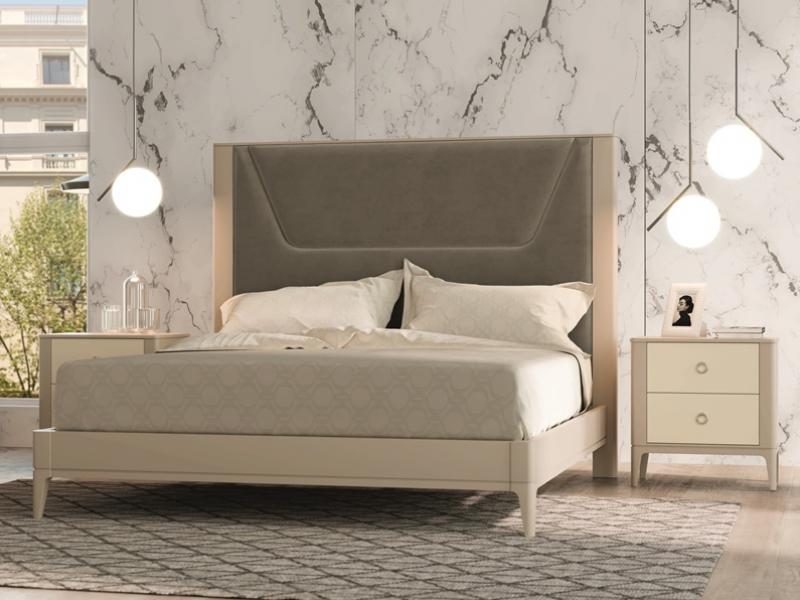 Dormitorio lacado y tapizado.Mod: JOSEPHINE