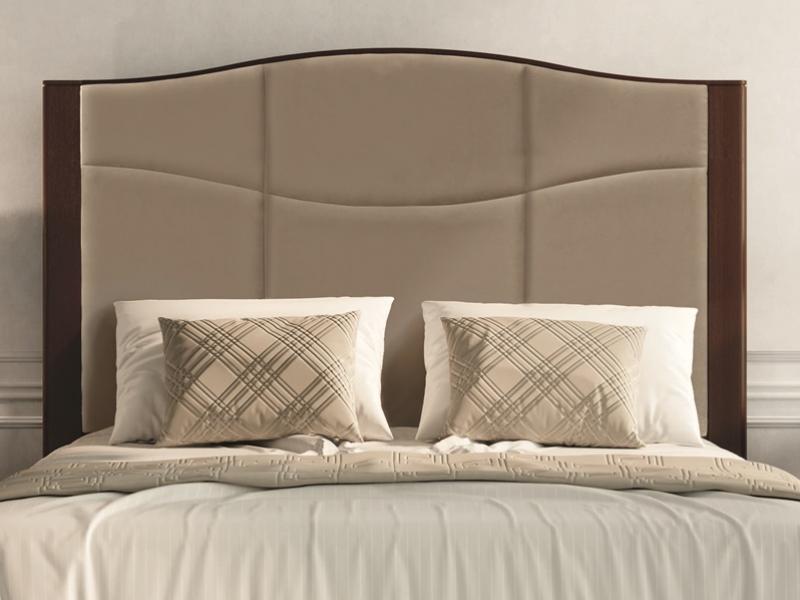 Dormitorio en madera y tapizado.Mod: TESA
