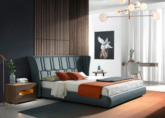 Dormitorio tapizado. Mod: TAUREAU