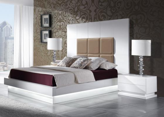 Dormitorio lacado de diseño .Mod: TAMARA