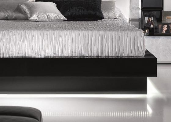 Base cama lacada. Mod. NATASSIA