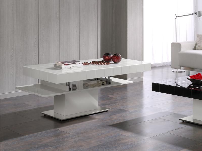 mesa de centro con tapa elevable mod
