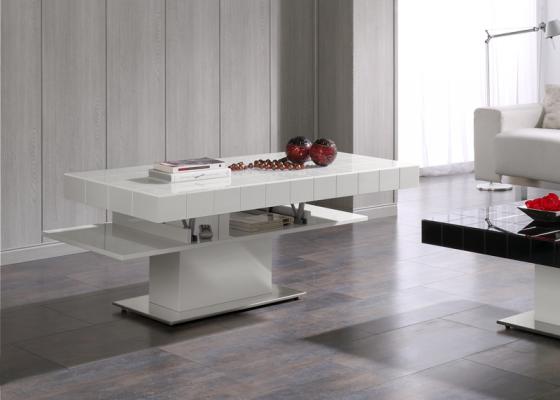 Mesa de centro con tapa elevable. Mod. TABLET