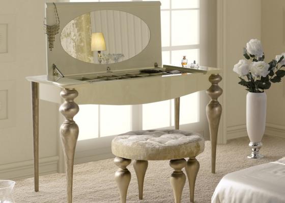 Tocador con espejo y joyero. Mod PA9615