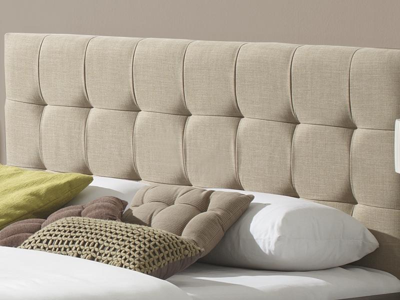 Cabeceros de cama tapizados tela simple cabecero de cama - Cabeceros de cama de tela ...