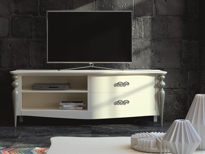 M�dulo TV con 2 cajones y 2 huecos. Mod PA9757