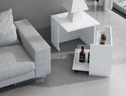 Mesa auxiliar mueble bar. Mod. JB