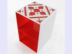 Módulo de mesa multifunción. Mod. LYDRA CRUZ
