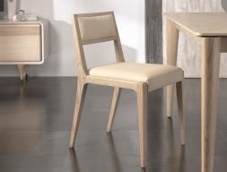Juego de 2 sillas tapizadas , mod: NORDIC 478