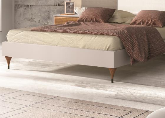 Base de cama lacada, mod: NORDIC 508