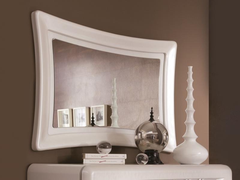 Espejo lacado, mod: FEUILLES