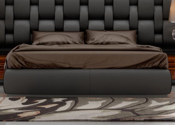 Base cama tapizada. Mod.CADENAS