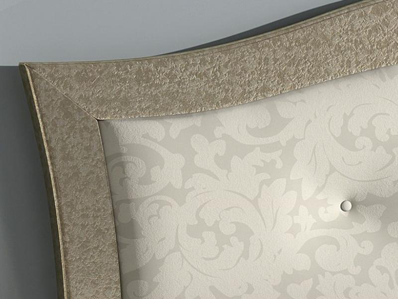 Cabecero lacado con plaf�n tapizado , mod: GA1351
