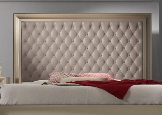 Cabecero lacado y tapizado, mod: GA1355