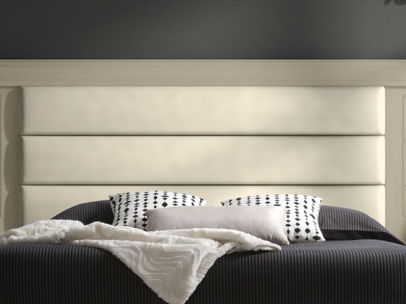 Cabecero largo tapizado con grabados, mod: GA1360G