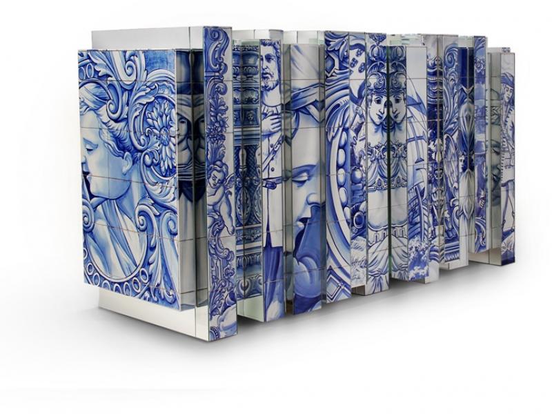 Aparador forrado de azulejos mod: HERITAGE