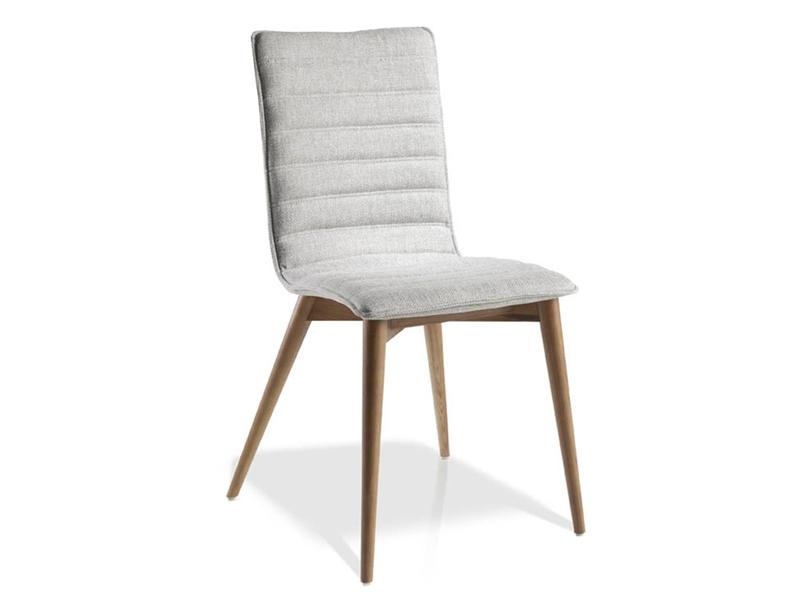 Juego de 2 sillas tapizadas. Mod. OFELIA