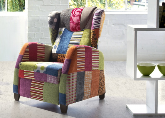 Sillón relax , mod: KEVIN PATCHWORK RELAX