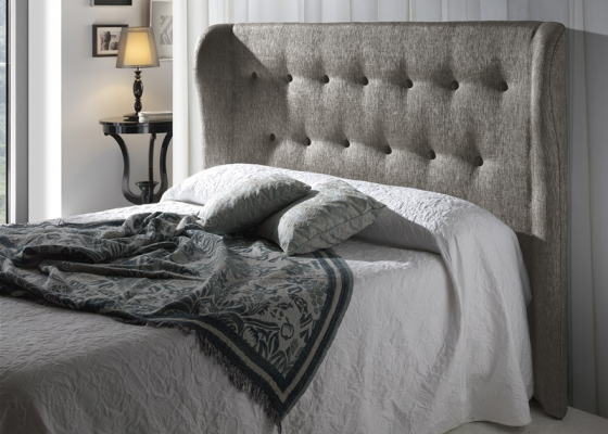 Cabecero tapizado, mod: ORBA