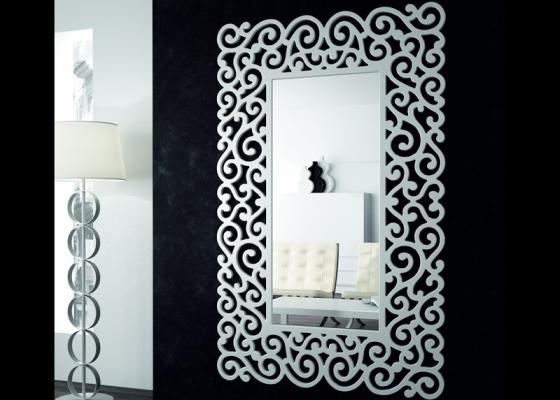 Espejo vestidor lacado, mod: SANDRA ALTO